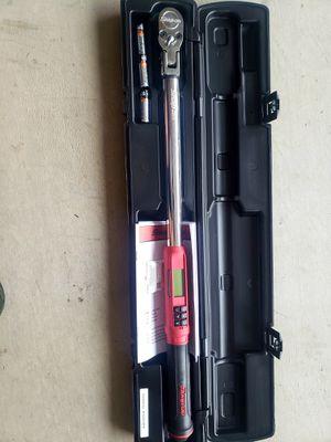 SnapOn Flex Head Torque Wrench for Sale in Queen Creek, AZ