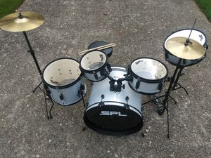 Used SPL Kicker Pro (5pc) Drum Set for Sale in Mableton, GA