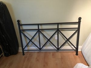 Full size bed footboard and frame for Sale in Miami, FL