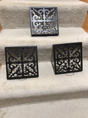 Three Wall Mount Tea Light Holders for Sale in Gainesville, VA