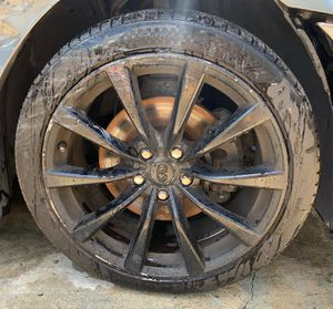 "INFINITI OEM SPORTS 19"" WHEELS / RIMS W/ USED TIRES 5X114.3 for Sale in Fort Lauderdale, FL"