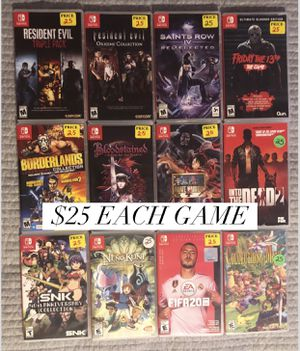 $25 Nintendo Switch Games for Sale in Compton, CA