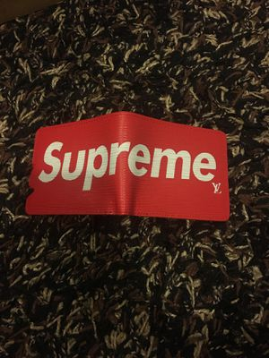 Supreme x Louis Vuitton wallet for Sale in Vancouver, WA