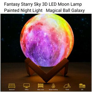 New 3D Galaxy Moon Lamp for Sale in Memphis, TN