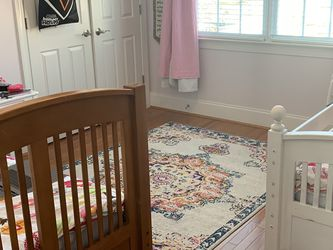 The White Sold. Twin Bed Included Mattress & Bedding for Sale in Cary,  NC