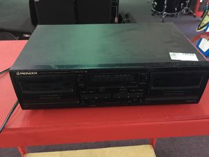 Pioneer electronics tape recorder and player transfer music sound audio pro BCP004163 for Sale in Huntington Beach, CA