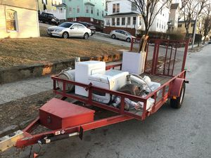 HEAVY DUTY CARRY ON TRAILER 2014 for Sale in Worcester, MA