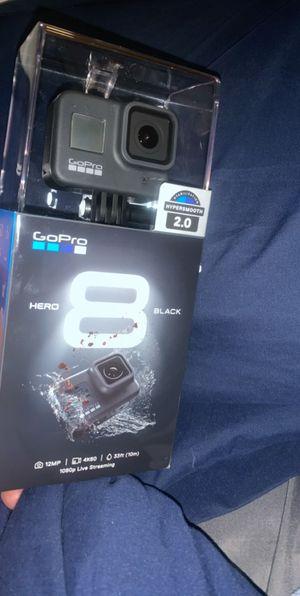 GoPro hero 8 plus 3 batteries for Sale in Laurel, DE