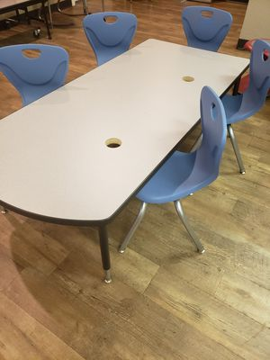Kids Activity table with 5 chairs - Open Box for Sale in Dallas, TX