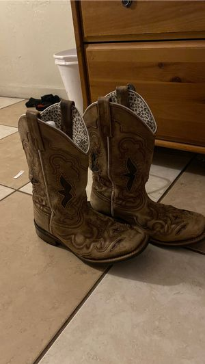 Loredo cowgirl boots- Size 8.5 for Sale in St. Petersburg, FL