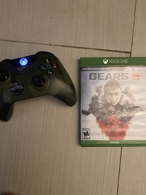 Xbox one Controller and games great working condition for Sale in Capitol Heights, MD