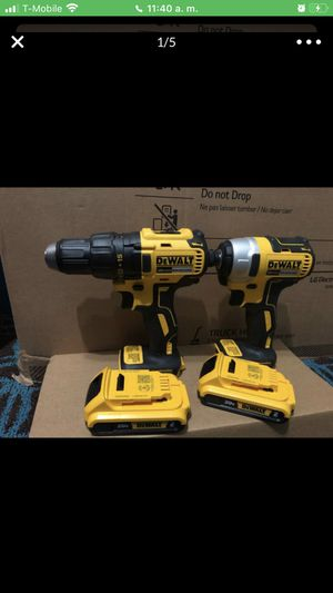 Dewalt brushless Motor cordless impact drill/impact combo kit 2 tools for Sale in Laurel, MD