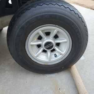"""Set Of 4 Golf Car Tires, Club Car Precedent 17"""" Tire for Sale in Canyon Lake, CA"""