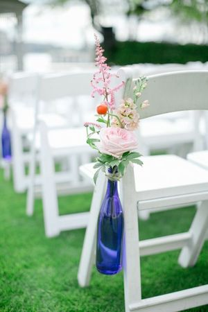 Blue Bottles for Wedding or Decoration for Sale in Chicago, IL