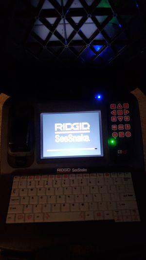 RIDGID SEESNAKE CS65 COLOR MONITOR USB RECORDER SEWER CAMERA for Sale in La Mesa, CA