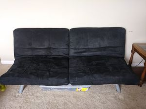 Black Double futon for Sale in Riverview, FL