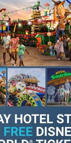 2 Theme Park Tickets And a 3/2 Night Hotel Stay Free for Sale in Edgewood,  FL