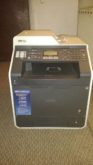 Mfc color laser printer,fax machine for Sale in Salt Lake City, UT
