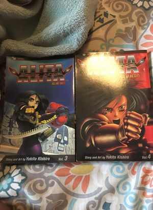 Alita Battle Angel Manga Volumes 3-4 for Sale in Fort Mill, SC
