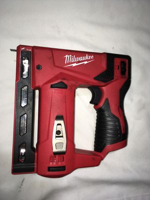 Staple gun Milwaukee tool only for Sale in Industry, CA