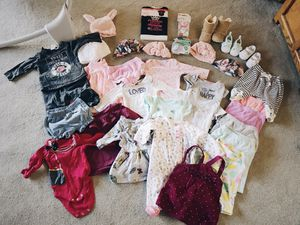 0-3 Months Newborn Baby Girl Clothes for Sale in Midway City, CA