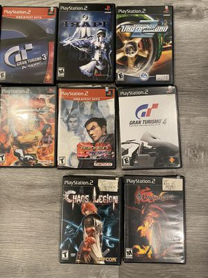 PS2 games for sale $10 each or.. for Sale in San Diego, CA