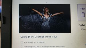 Celine Dion Concert Tickets for Sale in Indianapolis, IN