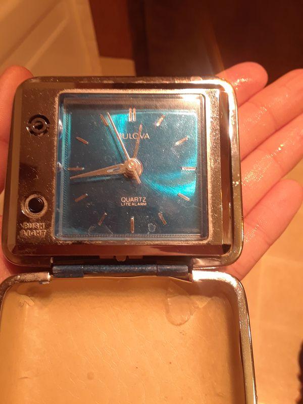 Bulova alarm clock