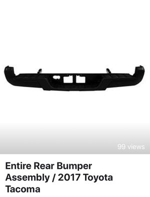 Entire Rear Bumper Assembly / 2017 Tacoma for Sale in Tampa, FL