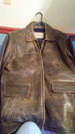 Mens leather jacket for Sale in Dixon, MO