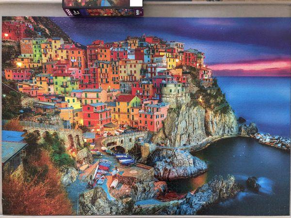 2000 Piece Jigsaw Puzzle - Cinque Terre, Italy
