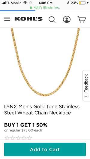 Gold chain for Sale in Somerton, AZ