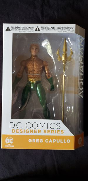 DC Collectible Greg Capullo Aquaman for Sale in Milpitas, CA