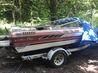 1987 Sea Ray PDGPR Boat + Trailer for Sale in Portland,  OR