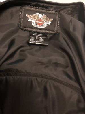 Genuine Harley Motorcycle Leather Vest for Sale in Houston, TX