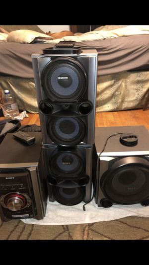 Sony, mini Hi-if Component System ec-9098ep for Sale in Oxon Hill, MD