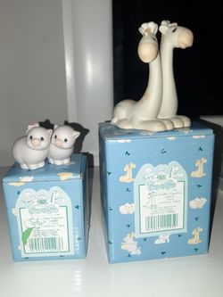 Small PRECIOUS MOMENTS FIGURINEs, Both For $15 for Sale in Fort Myers,  FL