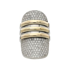 Sterling silver and gold 14k ring for Sale in Miami, FL
