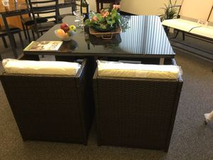 Outdoor dining set new! for Sale in Toms River, NJ