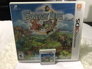FANTASY LIFE for NINTENDO 3DS for Sale in Morrow, GA