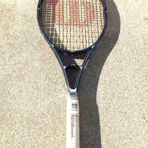 Tennis Racket - Wilson STING- Still Has Plastic On Handle! Lightweight- Powerful! Excellent Condition! for Sale in West Covina, CA