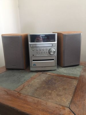 Aiwa xr-em 50 cd stereo system for Sale in Pittsburgh, PA