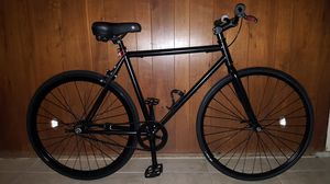 "Black Authentic ""Custom"" Single Speed Fixie Bike Medium Size 55 In Excellent Condition 10/10. for Sale in ROWLAND HGHTS, CA"