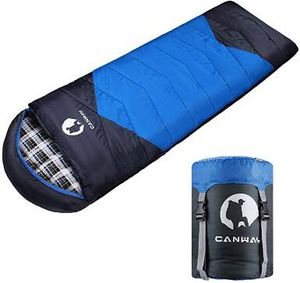 Sleeping Bag with Compression Sack, Lightweight and Waterproof for Warm & Cold Weather, Comfort for 4 Seasons Camping/Traveling/Hiking/Backpacking, A for Sale in San Dimas, CA