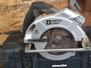 Porta cable skill saw for Sale in Petersburg, IN