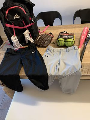Girls baseball gear for Sale in Phoenix, AZ