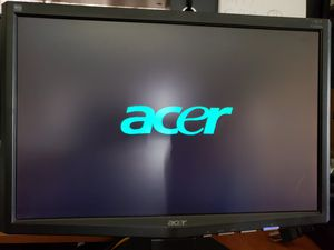 Acer X193W 19 inch LCD computer monitor for Sale in Sarasota, FL