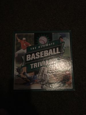 The ultimate baseball trivia board game for Sale in Livingston, TX