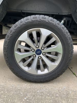 F-150 tires and rims and headlights. for Sale in Sicklerville, NJ
