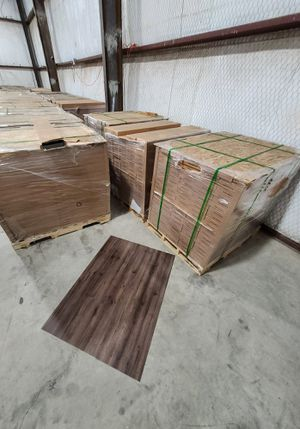 Luxury vinyl flooring!!! Only .67 cents a sq ft!! Liquidation close out! JU for Sale in Webster, TX